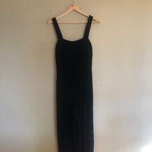 Madewell Black Velvet Jumper Size 6